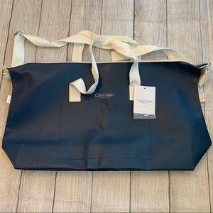 NWT Huge Calvin Klein Navy Blue Tote Bag